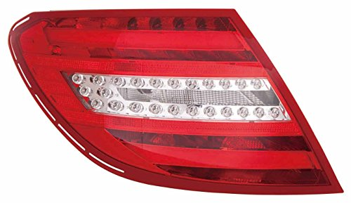 Fits Mercedes Benz C Class Sedan/Coupe 2012-2014 Tail Light Assembly LED Type Driver Side MB2800135