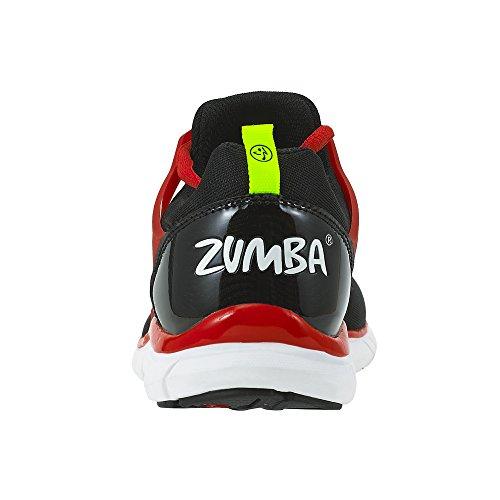 Fly Damen Fusion Black Fitnessschuhe Footwear Zumba Schwarz Zumba Avtq6