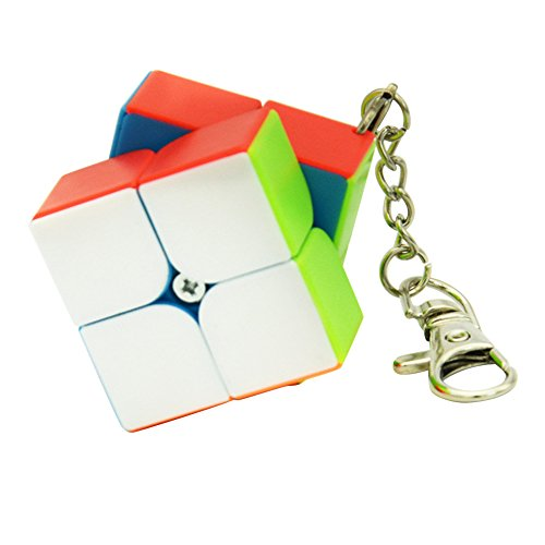 - RONSHIN Super Cute Small Cube Key Ring 33 & 2 2 Cylindrical Trihedron Cube Keychain Toy Gift for Birthday Xmas Festival 2 2