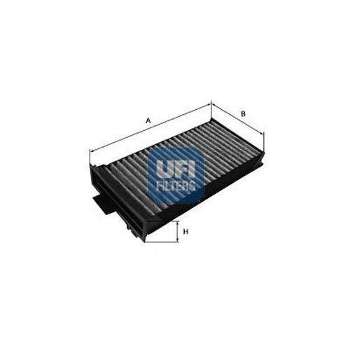 UFI 1815412500 Filtro Aire Habitaculo Citroen 36 Azul