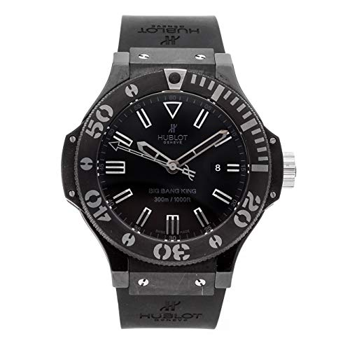 Hublot Big Bang Mechanical (Automatic) Black Dial Mens Watch 322.CK.1140.RX (Certified Pre-Owned) ()