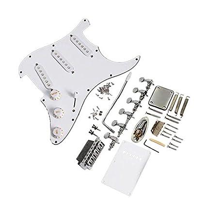 Pixnor – Repuesto con SSS de pastillas para Completo set Fender Stratocaster