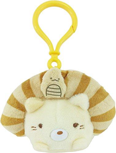 - San-X Sumikko Gurashi 5th Anniversary Plush EGYPTIAN CAT for Bag Strap/Keychain/Charm