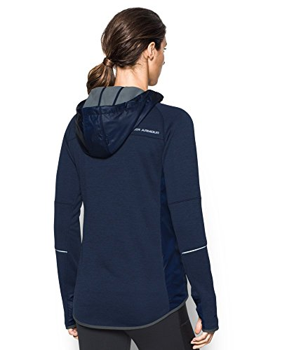 Under Armour Women's Storm Swacket Full Zip, Midnight Navy/Midnight Navy, Medium by Under Armour (Image #1)