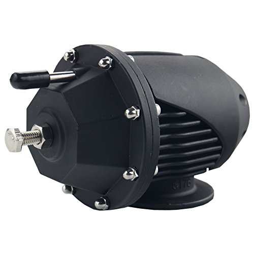 Ssqv Universal Blow Off Valve (Dewhel Universal Adjustable Billet Aluminum Turbo SQV SSQV blow Off Valves BOV (Black))