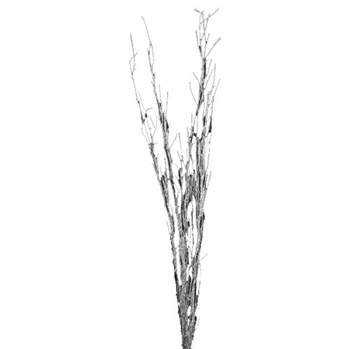 Shinoda Design Center 5 Piece/2 Piece Glitter Natural Bamboo Stem Set, 18-24