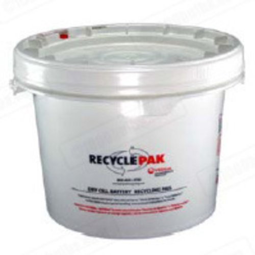 (Prepaid Recycling Container Kit for Batteries by Veolia)