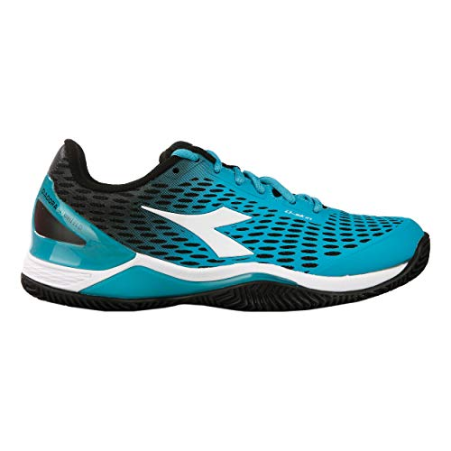 Clay Chaussure Tennis De 2 Noir Diadora Femmes Clair Blushield Terre Chaussures Bleu 37 Speed Battue qW8InwRB
