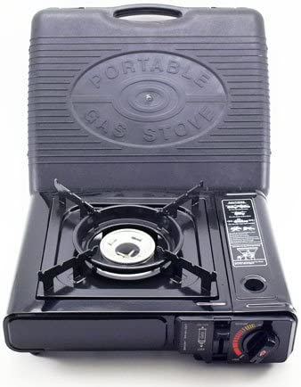 M.V. Trading Deluxe Portable Butane Stove Free Carry Case