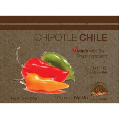 The Pantry Club Chipotle Chile Gourmet Dip Mix, 0.91 Ounce -- 12 per case.