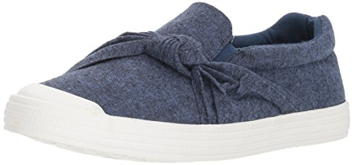 Rocket Dog Women's Canyon Electron Cotton Sneaker, Blue, 7.5 M US (Slip Rocket On)