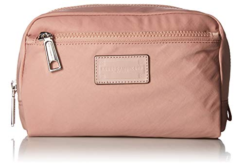 Rebecca Minkoff Women's Nylon Cosmetic Pouch, Vintage Pink, One Size
