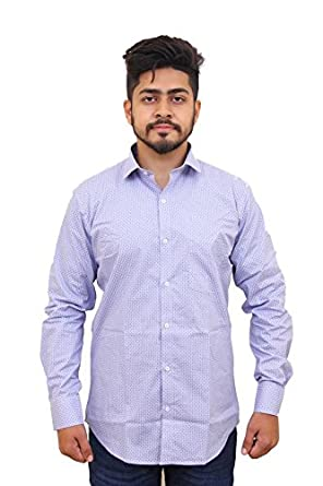 5f76bb569dab Blackberry Urban Men's Casual Regular Fit Cotton Shirt: Amazon.in: Clothing  & Accessories