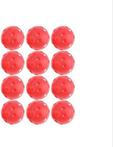 adahill (TM) 12 x 72 mm, colores mezclados floorball Pickleball ...