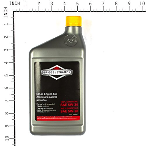 Buy synthetic oil for small engines