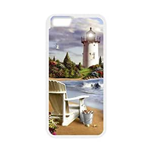 """TOSOUL Cover Shell Phone Case Lighthouse For iPhone 6 Plus (5.5"""")"""