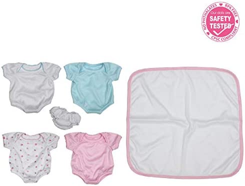 JC Toys Newborn Berenguer Outfit product image