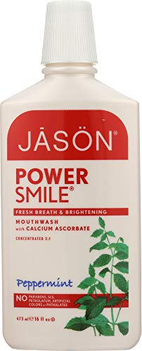 (Jasön (NOT A CASE) PowerSmile Mouthwash Brightening Peppermint)