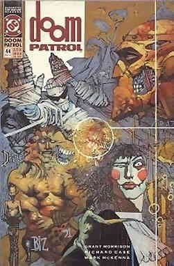 Amazon Com Doom Patrol 2nd Series 44 Vf Dc Comic Book Entertainment Collectibles