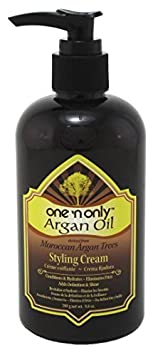 One N Only Argan Oil Style Cream Leave-In Pump 9.8 Ounce 290ml 3 Pack