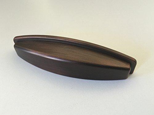 """Sonoma Cabinet Hardware Dakota Bin Mission Pull Cup Handle Venetian Bronze 3"""" Moen Betweeen Screw Holes NEW"""