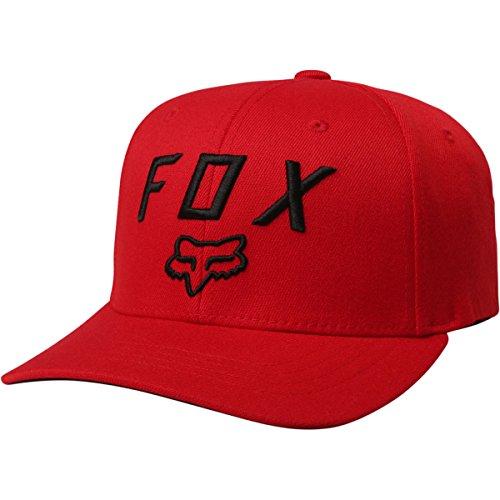 Fox Racing Legacy Moth 110 Snapback Hat-Dark Red