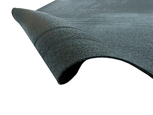 Pavimento isolante garage in gomma nera insonorizzante