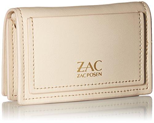 Ivory Earthette Ivory Zac ZAC Posen Case Chain Card Credit with EzfPq