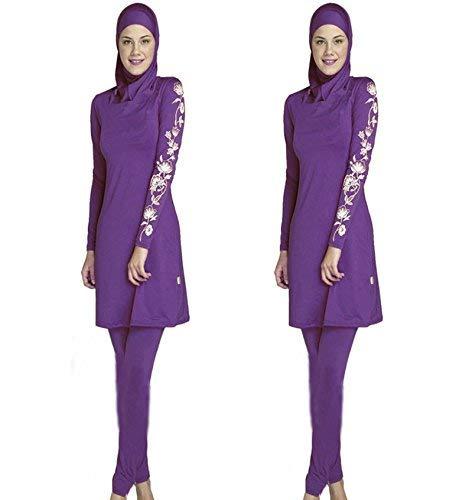 De Grand Conservateur Plage Taille Bain Unique Oudan Xl Musulman coloré Président Nombre Femmes Rouge Montré Islamiques Comme Maillot Montré RY5xRwIv