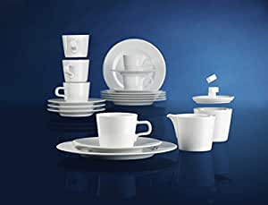 Seltmann Weiden No Limits Tableware, Crockery, Porcelain, White, Dishwasher Safe, 12-pcs., 1710913
