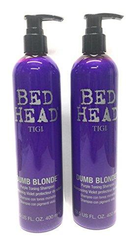 TIGI Bed Head Dumb Blonde Purple Toning Shampoo 135 Ounce