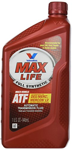 - Valvoline VV324 1 Quart MaxLife Full Synthetic Multi-Vehicle Automatic Transmission Fluid, 32 fl. oz