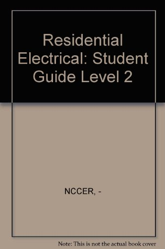 Residential Electrical book by NCCER