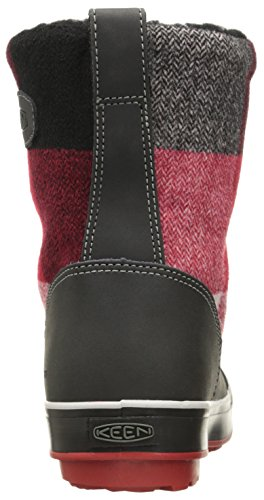 Noir Femme Hautes Boot Dahlia de Elsa Red WP Black Chaussures Randonnée KEEN 68q1w0x
