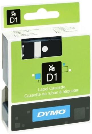 Weiss auf Schwarz 24mm f/ür DYMO LabelWriter 450 DUO 7mtr. Beschriftungsband Farbband Schriftband-Kassette f/ür Label Writer 450DUO