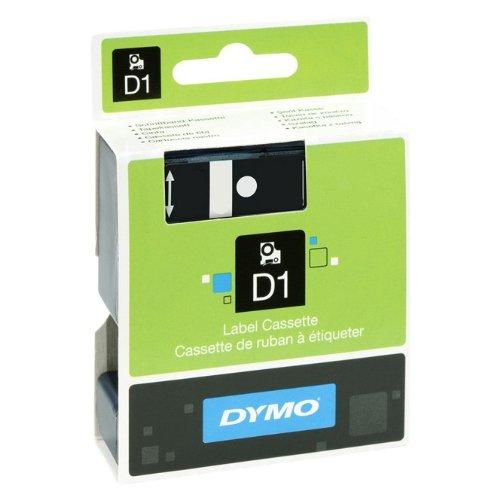 Farbband Schriftband-Kassette f/ür Label Manager PnP PC Beschriftungsband 7mtr. 12mm f/ür DYMO LabelManager PNP Rot auf Transparent
