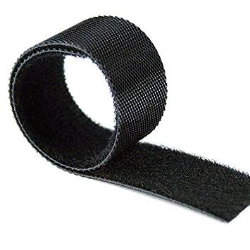 50x Klettband back to back beidseitig Klettkabelbinder Klettverschluss Band