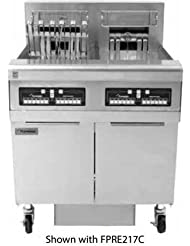 Frymaster FPRE314TC 47 RETC Series Energy Star Commercial Electric Fryers With 150 Lbs Oil Capacity 42 Kw Electrical Input Oil Filtration CM3 5 Controller And Deep Cold Zone In Sta