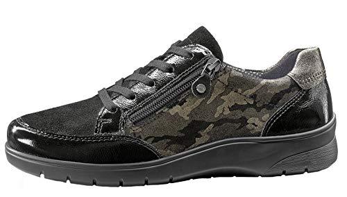 Ara de para Mujer Cordones Negro Zapatos 5rqB5