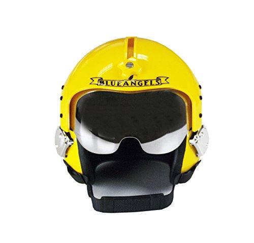 US Navy Blue Angels Authentic Mini Flight Helmet by Fox-2 Flightgear ()