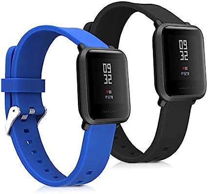 Amazon.com: kwmobile Silicone Watch Strap for Xiaomi Huami ...