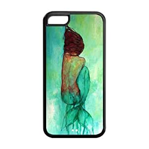 CreateDesigned The Little Mermaid Disney Princess Ariel Case Cover for iPhone 5C (Cheap iPhone 5) SKU-I5CCD00171
