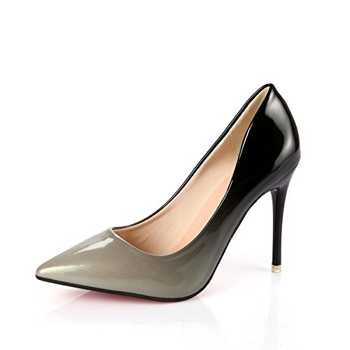VIVIOO Pumps Damen Pumpsfrauen Pumpsfrauen Pumpsfrauen Pumps Fashion Spitz Zehen Lack Stiletto High Heels Schuhe Frühling  Hochzeit Schuhe Frau High Heels 6f24d7