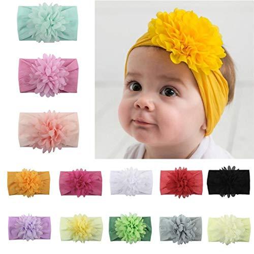 Dongtu Kids Fashion Cute Floral Headwear Soft Elastic Baby Headband Hair Accessories