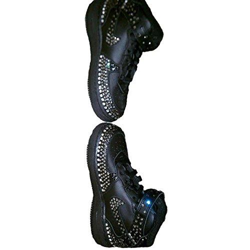 Black Kids Sneakers