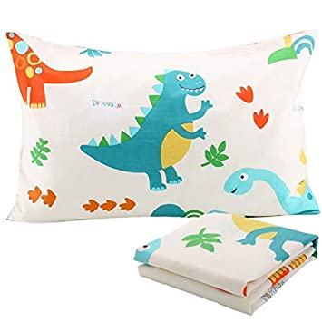 Kids Toddler Pillowcases UOMNY 1 Pack 100/% Cotton Pillowslip Case Fits Pillows sizesd 13 x 18 or 12x 16 for Kids Bedding Pillow Cover Baby Pillow Cases
