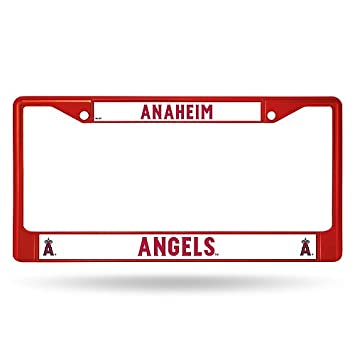 Los Angeles Angels Metal License Plate Frame - Red - Licensed MLB ...