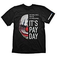 Payday 2 T-Shirt Chains Mask, M (Electronic Games)