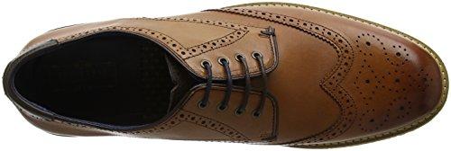 Zapatos Marrón Oxford Baker Hombre Tan Ted Cordones de Prycce para ERU78qwf