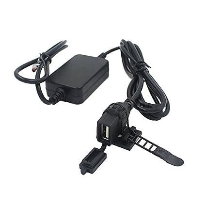 Kungfu Mall - Cargador USB para teléfono de Motocicleta ...